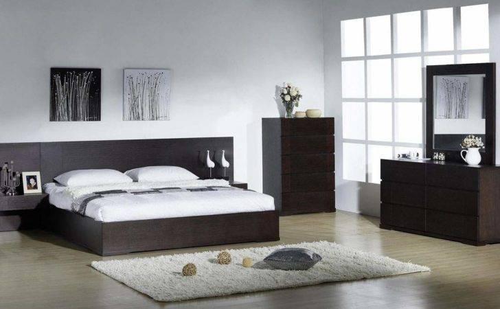 Elegant Quality Modern Bedroom Sets Extra Long Headboard