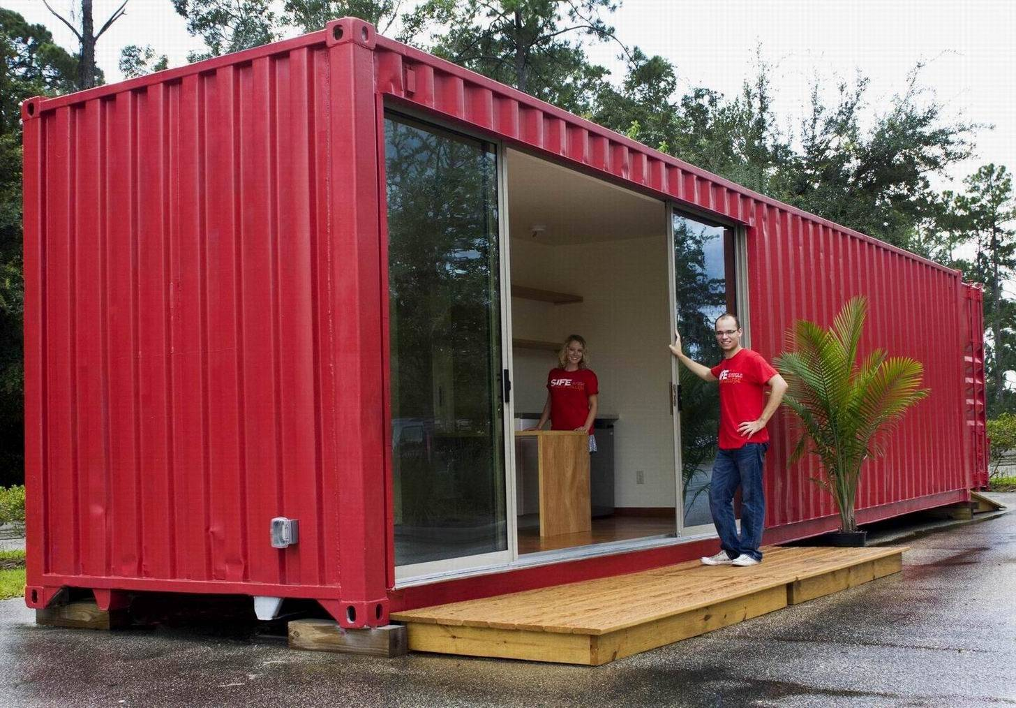 Elegant Simple Shipping Container Homes