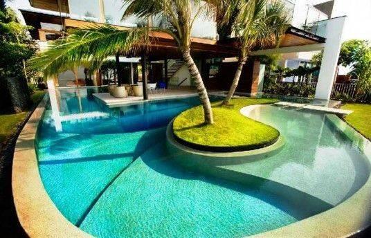 Elegant Swimming Pool Decor Ideas Luxury Pools Pinterest
