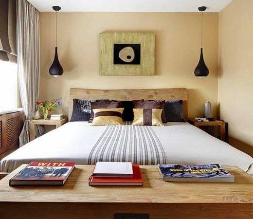Elegant Very Small Bedroom Interior Design