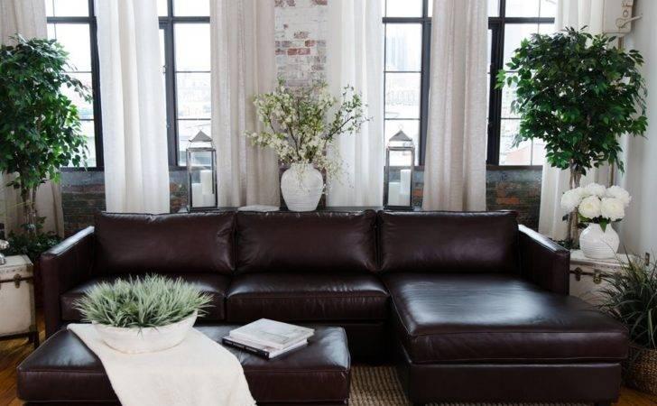 Elements Fine Home Furnishings Urb Urban Piece Leather Sofa Set