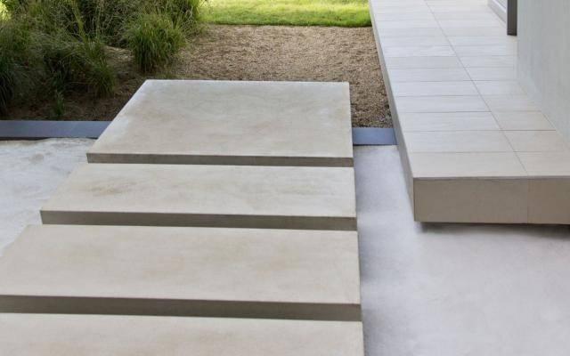 Elevated Modern Concrete Paver Walkway Credit Getty Paul