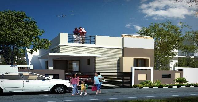 Elevations Independent Houses Individual Bhk