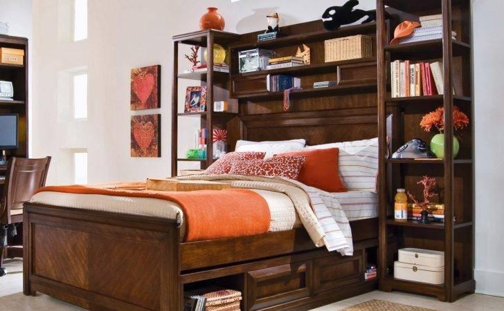 Elite Expressions Bookcase Storage Bed Hayneedle