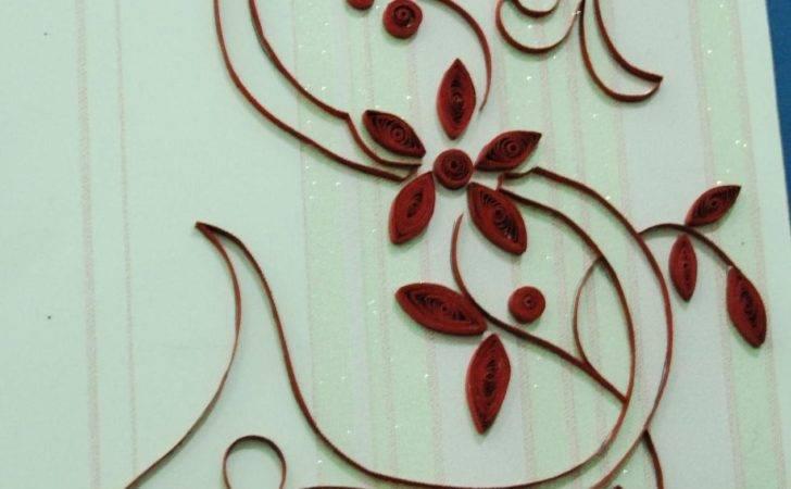 Elizabeth Arlene Quilled Creations Monogram