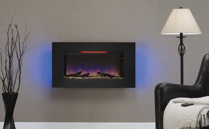 Elysium Infrared Wall Hanging Electric Fireplace Grg