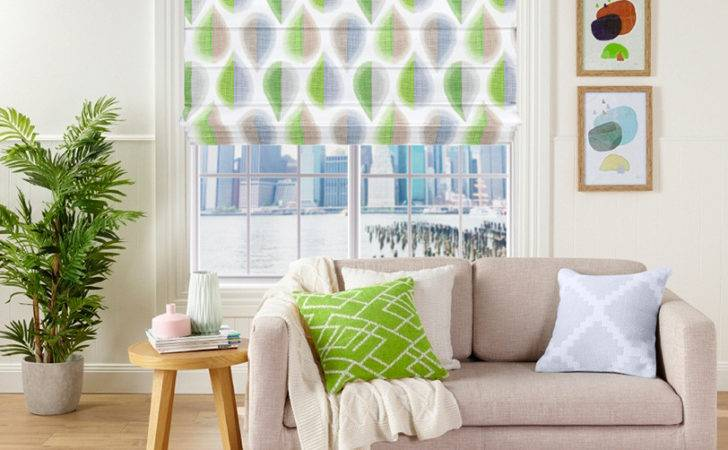 Elyza Curtains Blinds Malaysia Roman Blind Freedom Green