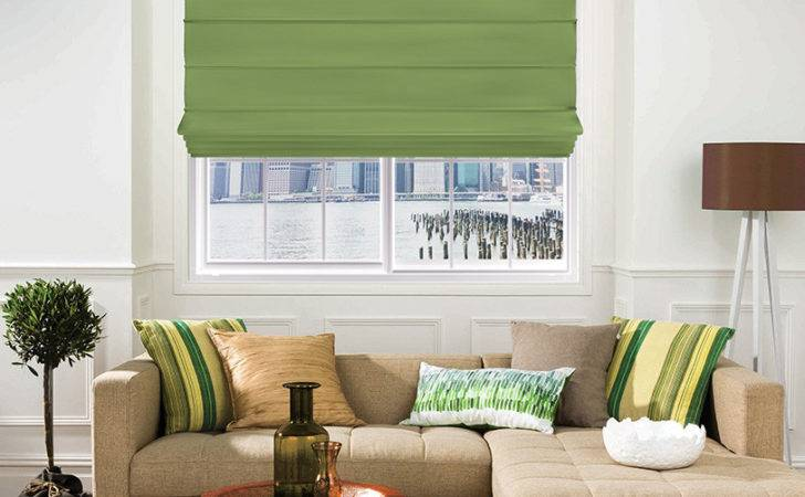 Elyza Curtains Blinds Malaysia Roman Blind Galaxy Verde Hoja