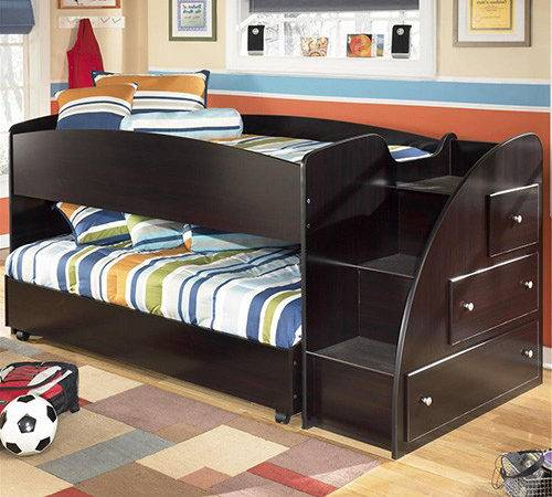 Embrace Collection Ashley Twin Loft Caster Bed