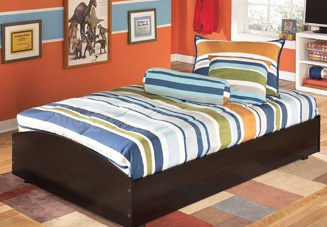 Embrace Twin Loft Caster Bed Kids Beds Youth Furniture