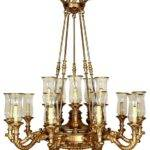 Empire Hurricane Chandelier Lights Mediterranean