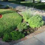 End Driveway Landscaping Ideas Front Herb Bed