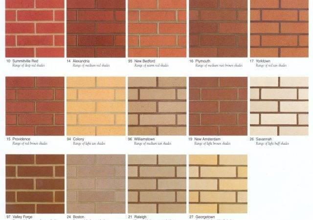 Endicott Brick Colors Parkut