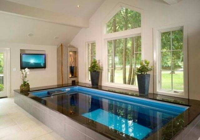 Endless Indoor Pool Home Spa