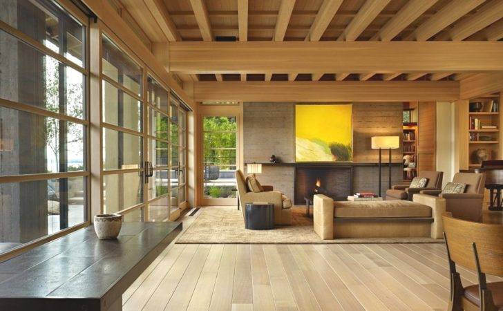 Engawa House Two Storey Home Seattle Washington Usa