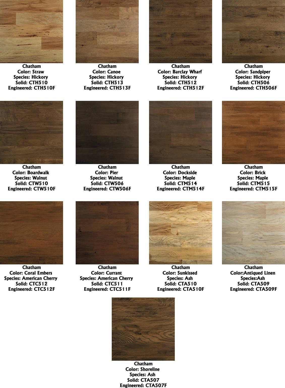 Engineered Hardwood Flooring Types Different Floors