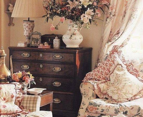English Country Cottage Decor Style Decorating