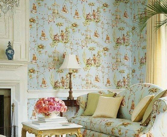 English Country Decor Matching Fabric