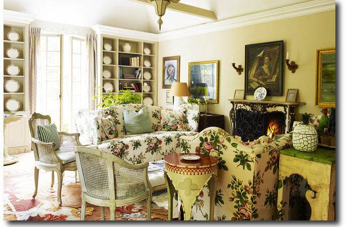 English Decorating Old World French Furniture Country