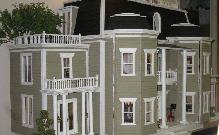English Manor Dollhouse Miniature Scratch February