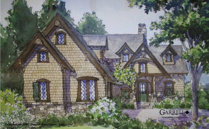 English Stone Cottage Designs Shake Grace