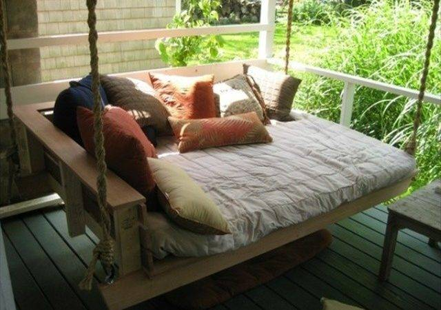 Enjoy Pallet Porch Swing Leisure Time Pallets