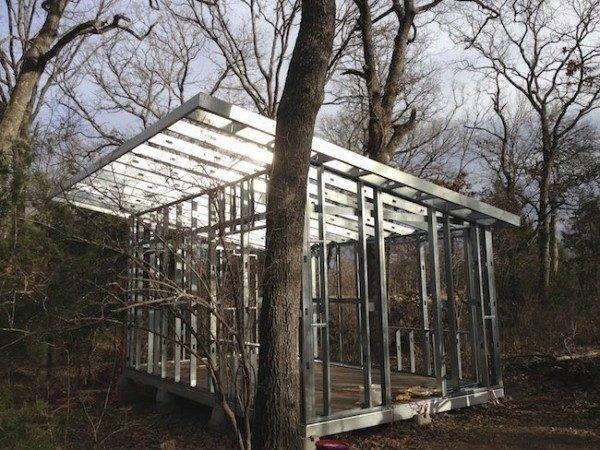Enjoyed Steel Framed Tiny House Woods
