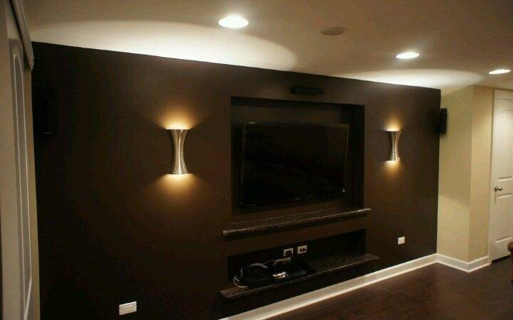 Entertainment Room Basement Ideas Pinterest