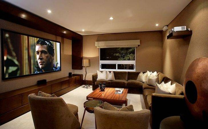 Entertainment Room Interior Home Theatre Pinterest
