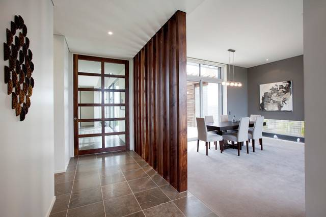Enticing Contemporary Hall Designs Accommodate