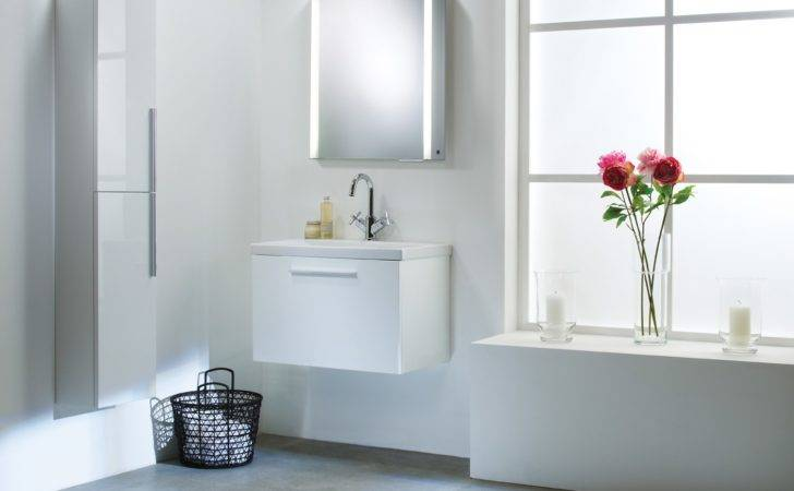 Envy Designer Modular Bathroom Furniture Collection White Vanity