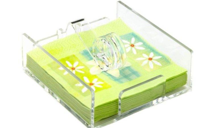 Epicurean Acrylic Napkin Holder Products Love Pinterest