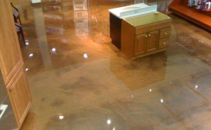 Epoxy Floor Coatings Metallic Kitchen