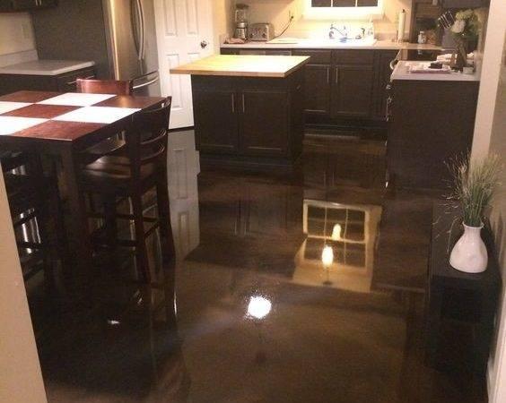 Epoxy Floor Diy More Kitchen Floors