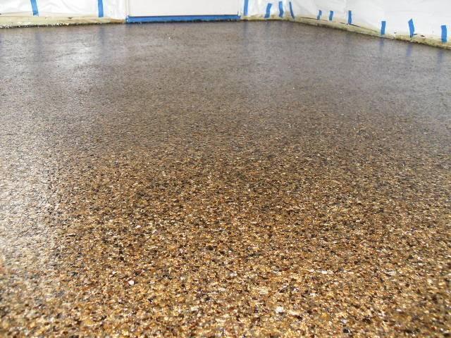 Epoxy Floor Mica Flakes Contemporary Metro Elite Concrete