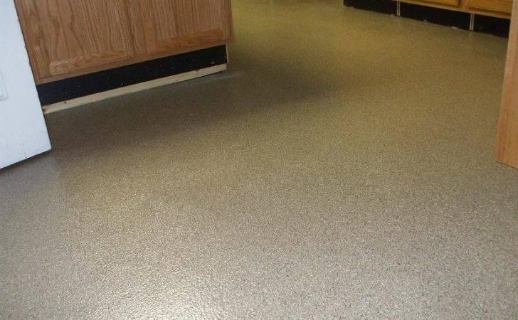 Epoxy Flooring Finished Basement