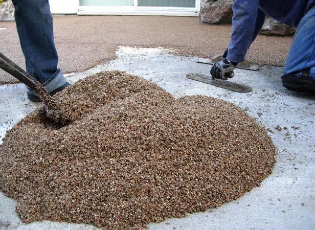 Epoxy Flooring Pebble