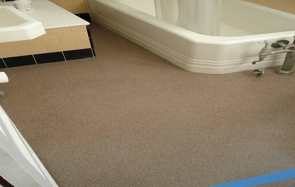 Epoxy Tile Floors Doctor Bathroom Flooring