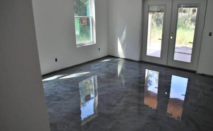 Epoxy Tile Kitchen Floor Home Interior Design Decorating
