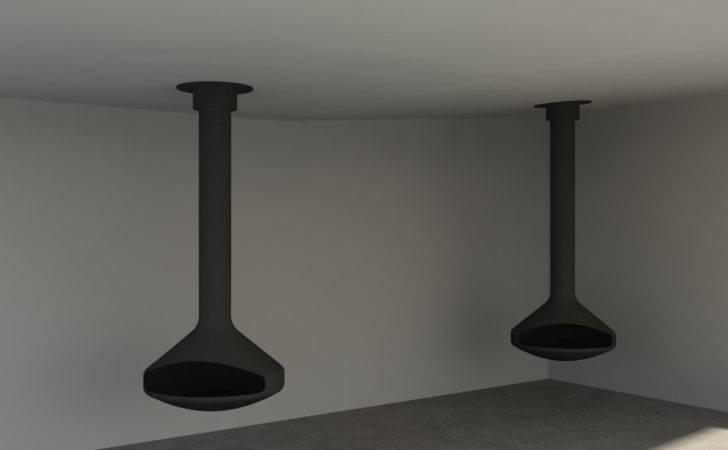 Ergo Focus Suspended Wood Fireplace Design Content