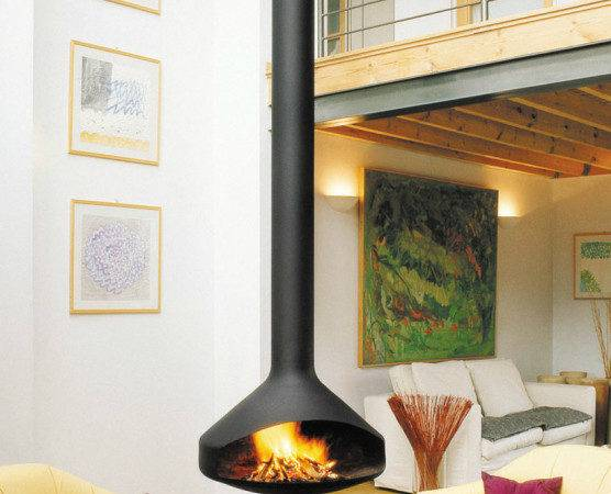Ergofocus Luminous Levity Fireplace
