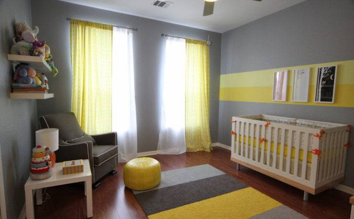 Eric Gray Yellow Modern Nursery Project