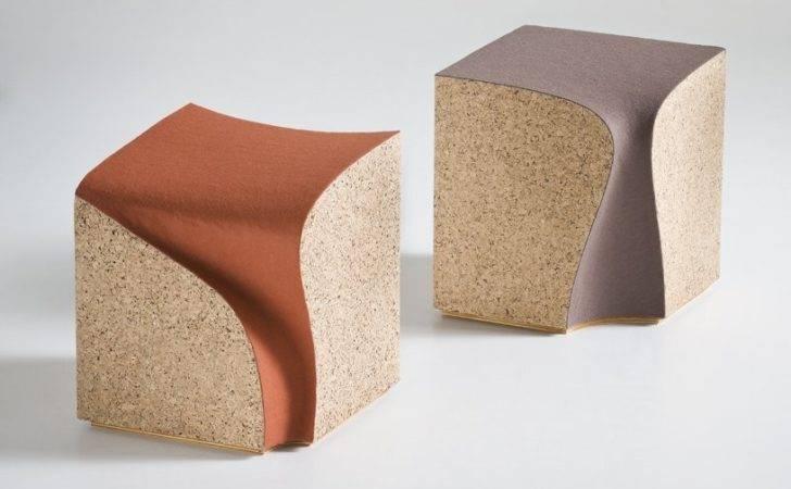 Eroded Stools Cork Furniture Nerdy Chic