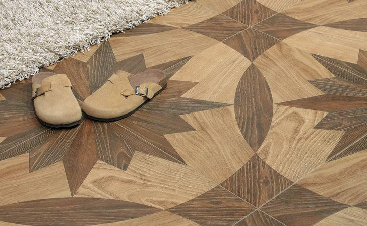 Estrellar Wood Effect Designer Ceramic Floor Tiles