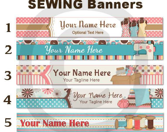 Etsy Banner Shop Sewing