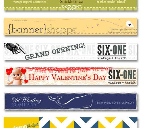 Etsy Banners Behance