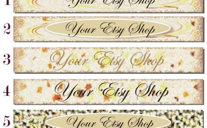 Etsy Shop Banner New Minimal Simple Beillija