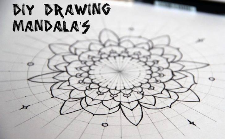 Eve Hearts Diy Drawing Mandala