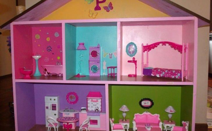 Everything Between Kelly Tiffany Making Barbie Houses