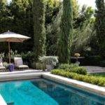 Example Tuscan Rectangular Lap Pool Design Los Angeles